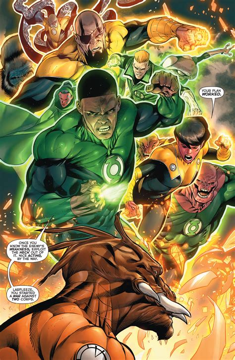 Dc Comics Hal And The Green Lantern Corps 8 January 2017 dc comics rebirth spoilers review hal the green lantern corps 11 explains orange