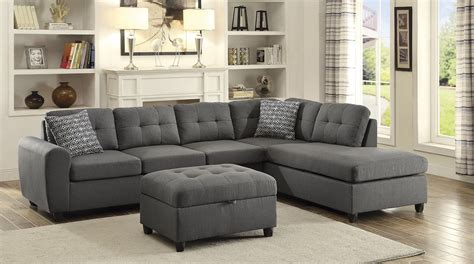 sectional property stonenesse sectional from coaster coleman furniture