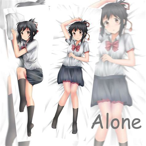 anime pillow name new japanese anime your name miyamizu mitsuha otaku