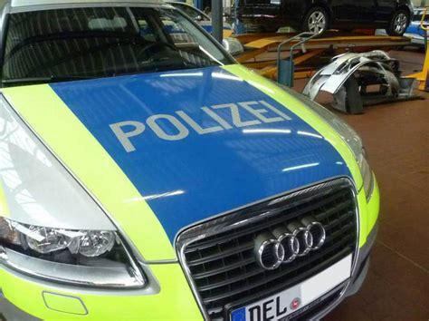 Auto Folierung Polizei by Spiering Werbung Osnabr 252 Ck Und Autofolierung Glasfolien
