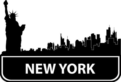 New York City Clip Art Many Interesting Cliparts Coloring Page New York