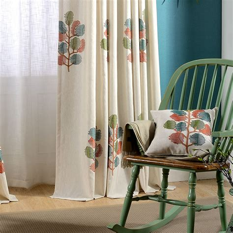 american country style living room bedroom linen cotton popular country style curtains living room buy cheap