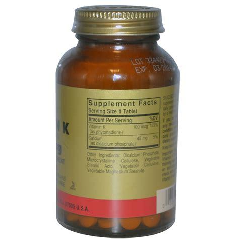 k supplement solgar vitamin k supplement buy best vitamin k