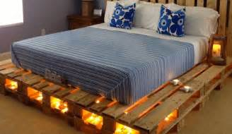 bed made out of pallets 11 designs for diy beds made out of pallets tiphero