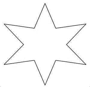 six pointed template best photos of printable template six pointed 6