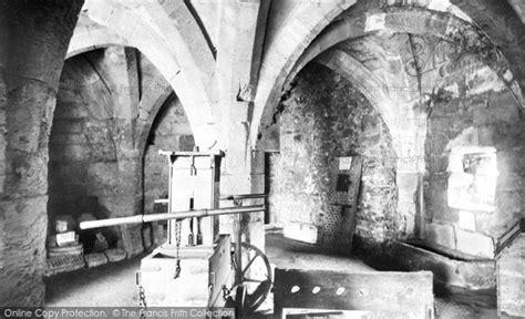 the guard room knaresborough castle the guard room 1914 francis frith
