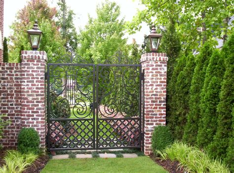 Cabinets Chicago Wrought Iron Gate Designs Landscape Mediterranean With