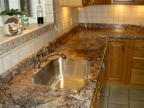Kitchen Counter Surfaces Classique Floors Tile Types Of Countertops