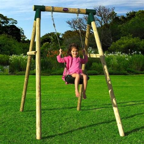 children swing way to keep your happy when in backyard
