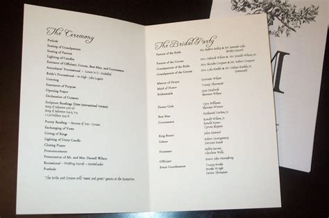 82 sle wedding ceremony programs best 25 wedding