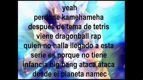 dragon ball rap porta dragon ball rap con letra porta youtube