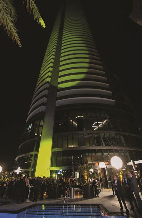 event design in miami p 0001 porsche design tower miami les carats