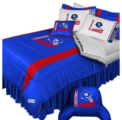 New York Giants Comforter by Nfl New York Giants Boys Comforter Set Football