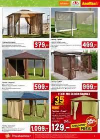 pavillon lutz baumax angebote katalog mai prospekt 252 bersicht