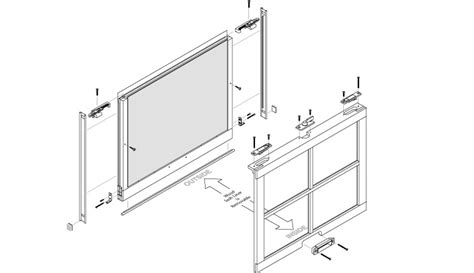 tilt window parts peachtree ariel replacement hung window parts and
