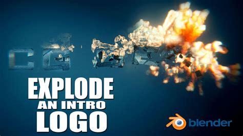 blender tutorial exploding planet create a logo explosion animation blender tutorial youtube