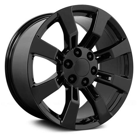 gmc yukon denali rims wheel replicas 174 gmc yukon denali wheels satin black rims