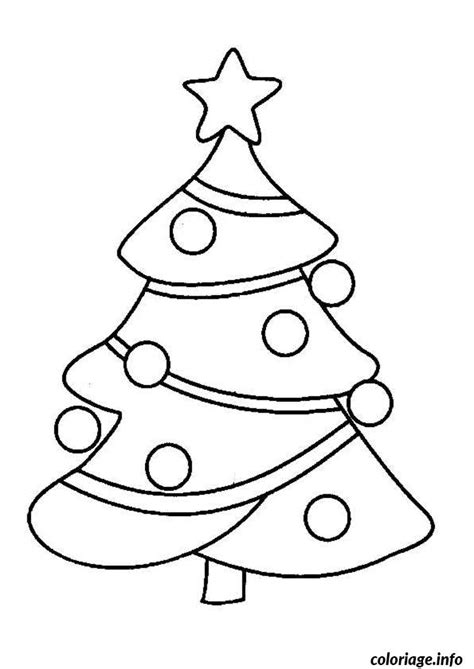 Coloriage Sapin De Noel Simple_1 dessin