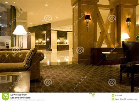 Restaurant Interior Designers Luxury Hotel Lobby Interiors Lighting Stock Images Image