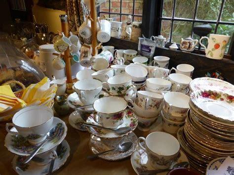 tudor tea room tea served in fashioned bone china tea cups picture of miss moody s tudor tea room romsey