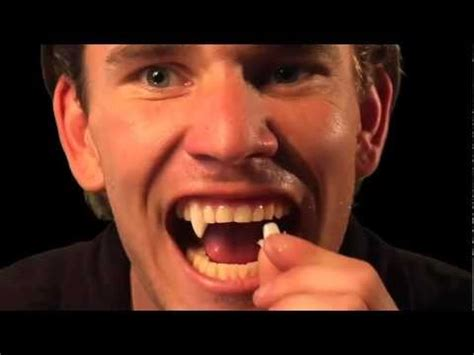 werewolf fangs tutorial download how to make your vier teeth stick without glue