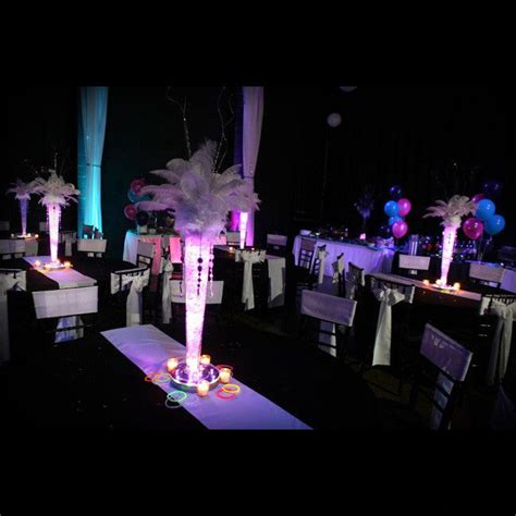 Quinceanera Themes Glow In The Dark | sweet 16 party glow in the dark event quince