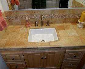 How To Tile Vanity Tops For Bathroom Choose Your Vanity Top With Care Sulekha Home Talk