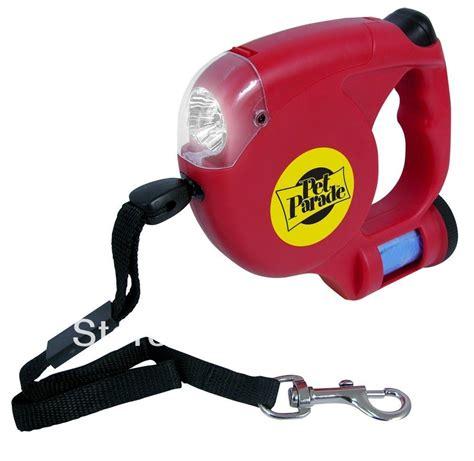 dog leash with light retractable dog pet leash walk traction w led light