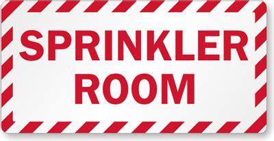 sprinkler room sprinkler signs custom sprinkler signs mysafetysign
