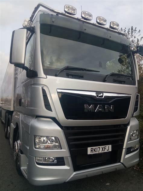 driven man tgx trucks