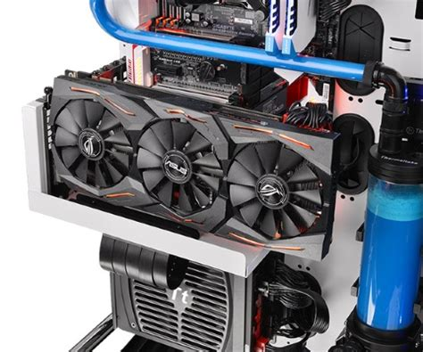 Riser Vga For Minning Gaming Etc display your graphics card with thermaltake s pcie riser