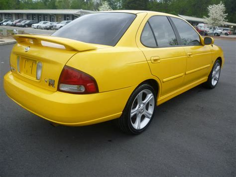 nissan sentra yellow 2003 nissan sentra se r spec v 6 sp manual yellow