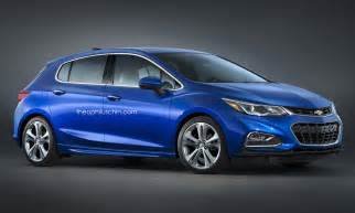 new chevy cruze hatchback doesn t look half bad