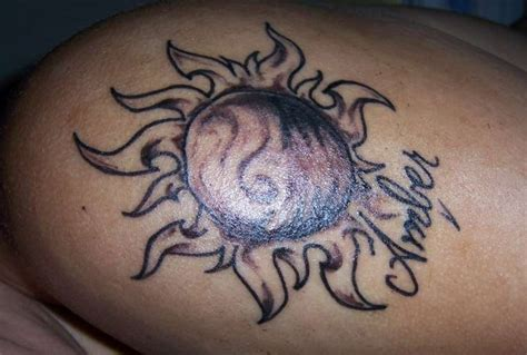 motive und bedeutung der sonnen tattoos
