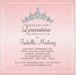 Quince Invitation Templates quinceanera invitation templates gangcraft net