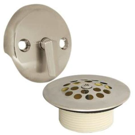 bathtub drain flange how to remove a stuck bathtub drain flange handyman of