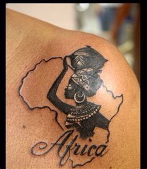 tattoo aftercare south africa the shape of the africa continent is perfect to include