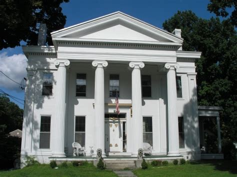 greek revival houses greekrevival on pinterest