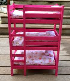 american doll bunk bed white doll bunk bed diy projects