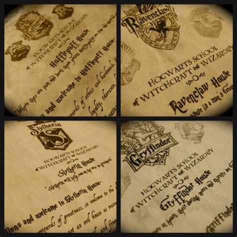 Hogwarts Acceptance Letter Kit The Complete Hogwarts Acceptance Letter Kit By Featheraffair House Letter Gryffindor Hufflepuff