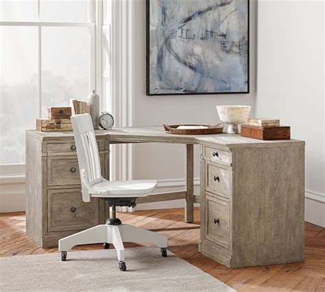 pottery barn small desk livingston corner desk pottery barn