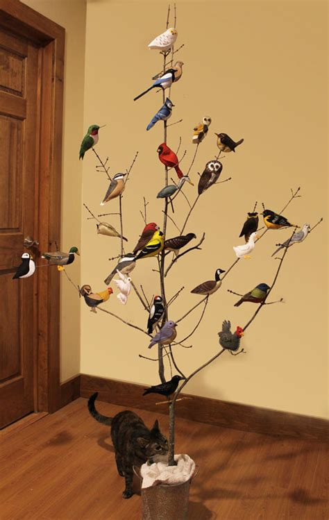 the bird tree a collection of bird felt ornaments