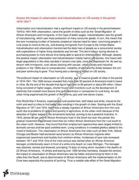 research paper on urbanization urbanization essay the position of urbanization in essay