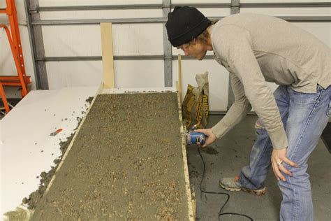 Build Your Own Concrete Countertops by Remodelaholic Diy Concrete Countertops In A Beautiful