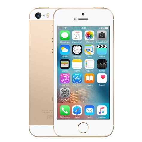 apple iphone se 128 go or mobile smartphone apple sur ldlc