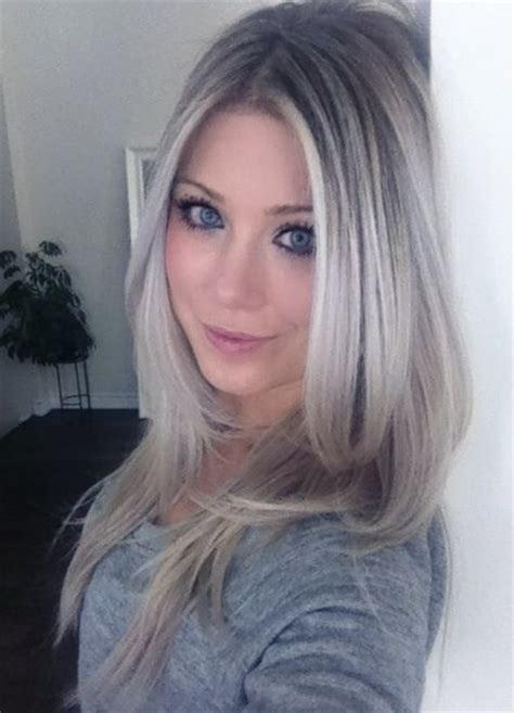 blonde grey hairstyles pinterest the world s catalog of ideas