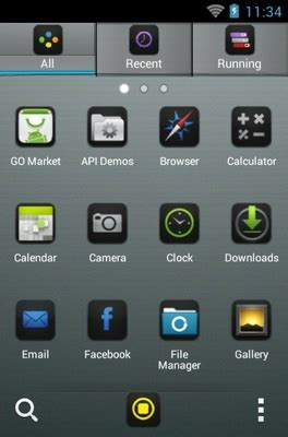 black themes for iphone 5 iphone 5 black android theme for go launcher