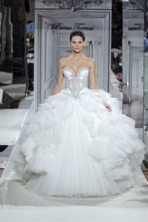 wedding dresses by pnina tornai pnina tornai for kleinfeld 2014 wedding dresses weddingbells