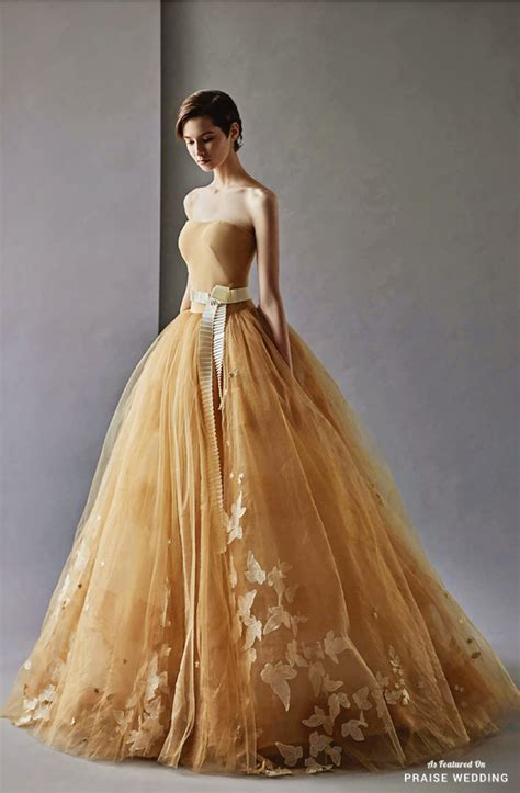 Elegancy Gold Dress this gorgeous golden gown from shine wedding is the