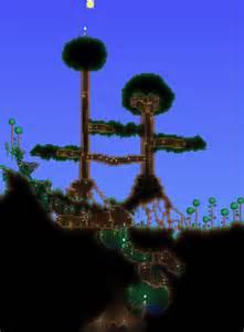 Awesome House Blueprints terraria tree house by chronozon937 on deviantart